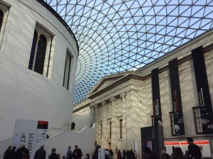 The Great Court at the British Museum, image by Jenny Chowdhury
