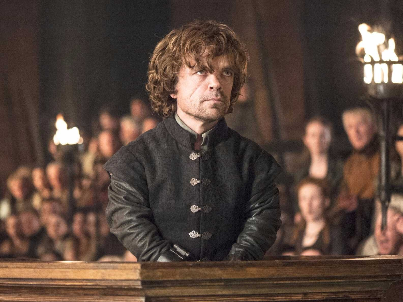 Image: Tyrion in Game of Thrones Season 4 - Helen Sloan/courtesy of HBO