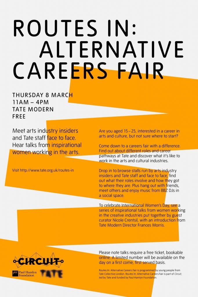 Routes in Alternative Careers Fair